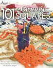 101 Granny Squares Crochet Instruction Pattern Book Annies Darla Sims Rare NEW