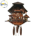 Vintage Large Cuckoo Clock with Musicians, Dancing, and A Man