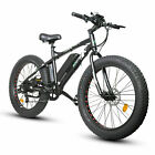 ECOTRIC 26 Fat Tire Wheel Snow Beach Mountain electric Bicycle 500W 26 moped