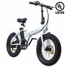 ECOTRIC Folding 20 Electric e Bike Beach Snow Bicycle Moped Removable Battery