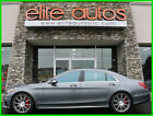 2017 Mercedes Benz S Class S 63 4MATIC AMG 1 owner ONLY 11k MILES 2017 Mercedes S63 s class Sedan LOADED rear seat package ONLY 11k miles LIKE NEW