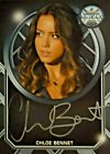 Agents of Shield Archive Box Exclusive Autograph Card - Chloe Bennet