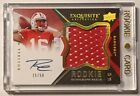 2012 Upper Deck Exquisite Football Rookie Autograph Patch Visual Guide 34