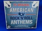 75 ORIGINAL AMERICAN ROCK 'N' ROLL ANTHEMS 3 BOXED SET CDS