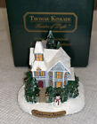 Thomas Kinkade Miniature Sculpture Figurine Victorian Christmas 2000 In Box