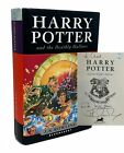 J K Rowling HARRY POTTER AND THE DEATHLY HALLOWS Signed 1st Edition 2007