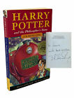 J K Rowling HARRY POTTER AND THE PHILOSOPHERS STONE Signed 1st Edition 1997