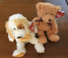 TY Beanie Babies Diggs And Huntley Plush Stuffed Animals, 2004, MWMTs