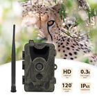 Outdoor Hunting Trail Video Camera Waterproof 2.4in 16MP 1080P Night Vision Cam