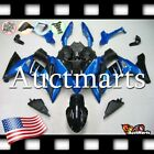For Kawasaki Ninja 650 ER-6F 2017-2019 Fairing Bodywork ABS Blue Black 8a2 PA