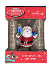 Hallmark 2018 Rudolph The Red Nosed Reindeer Santa Red Box Ornament. Free Ship