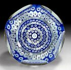 Whitefriars Glass Star of David Paperweight 30th Anniversary Israel 1978