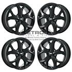 17 CHEVROLET VOLT GLOSS BLACK EXCHANGE WHEELS RIMS FACTORY OEM 5724 2016 2019