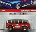 Hot Wheels VW Volkswagen Deluxe Bus PPG Delivery Detail Collectible Car w RRs Rd
