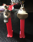 Lot of 2 Madagascar Pez Dispensers Marty The Zebra and Gloria The Hippo
