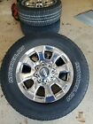 20 Ford F 250 F 350 OEM rims wheels tires chrome 2005 2016 2017 2018 2019