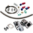 T3 T4 T04E 57 A R TURBO CHARGER+FEED RETURN LINE UNIVERSAL