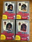 4 BOX LOT 1989-90 NBA Hoops Basketball Card Sports Trading box 89 Series II 2