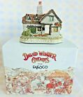 Vintage Enesco David Winter Cottages THE TANNERY The English Village Collection