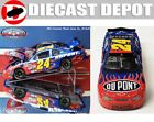 JEFF GORDON 2002 BRISTOL WIN RACED VERSION DUPONT FLAMES 1 24 ACTION