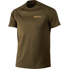 Harkila Herlet Tech Willow Green Mens Short Sleeve T Shirt Hunting Shooting
