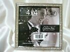 Green Tree Gallery Rhinestone Silver Tabletop Photo Picture Frame 4x4 Wedding