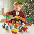 Fisher Price Little People A Christmas Story Nativity Set With Lights Sounds NEW