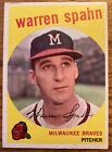 Warren Spahn Cards, Rookie Cards and Autographed Memorabilia Guide 21