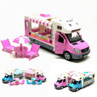 Hot Dog Ice Cream Truck 1 32 Model Car Diecast Gift Toy Vehicle Kids Collection
