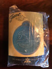 Fiesta® 75th Anniversary Embossed Christmas Ornament PEACOCK BLUE new in Package
