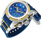 Invicta 52mm Bolt Zeus NFL OFFICIAL LOS ANGELES CHARGERS  Chrono Silicone  Watch