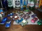 Hotwheels redline lot of 17 cars in heavily played condition