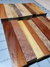 20 exotic and unusual wood pen blanks rosewood mango more