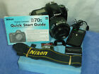 Nikon D70s 6.1MP Digital SLR Camera Nikkor 35-70mm Lens - complete kit