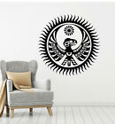 Vinyl Wall Decal Native Totem Eagle Symbol Sun Stickers Mural g3353