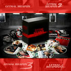 Lethal Weapons 1 2 3 4 All Series 8 Pieces Michael Caymen Weapon