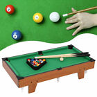 Small Pool Table Children Kids Snooker Billiards Set Cues Ball for Indoor Sports