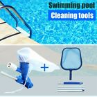 Swimming Pool Vacuum Cleaning Tools SetSuction Head + Skimmer Net Accessories