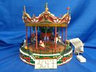 Lemax Village Collection Santa Carousel #34682 As-Is SS3047