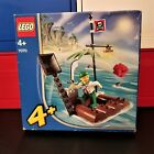 Lego 7070 Catapult Pirate Raft - 2004 Retired - Factory Sealed