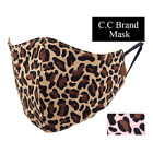 C.C Beanie Brand Exclusive Leopard Print Fashion Face Mask Brand Filter Pocket