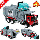 Diecast Barreled Garbage Carrier Truck 124 Waste Material Vehicle Mod Collector