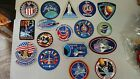 Large Lot of 35 Different Nasa Space Mission space ShuttleCrew Patches UNUSED