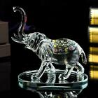 Clear Crystal Elephant Ornament Statue Cut Glass African Swarovski EXTRA LARGE