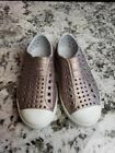 Native Shoes Rose Gold Glitter Toddlers Size 11