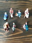 Mixed lot Department 56 Lemax unmarked Village Collection Sitting Figurines