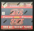 2015 Score NFL Football Trading Cards 24 packs (sealed box)