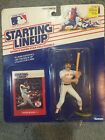 ⚾️ 1988 ROOKIE STARTING LINEUP - SLU - MLB - WADE BOGGS - BOSTON RED SOX