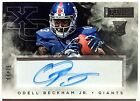 2014 Panini Playbook ODELL BECKHAM JR RC 69 75 On Card Rookie Autograph Browns
