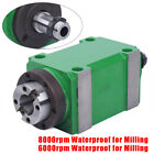 Taper Spindle Unit 1.5kw 2hp Power Head Cnc Spindle Milling Drilling Power Head